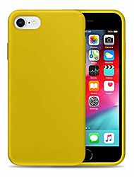 cheap -liquid silicone phone case for apple iphone 6/6s /full body protection/shockproof/gel rubber/cover case drop protection yellow