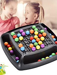 cheap -Board Game Educational Toy Rainbow Ball Elimination Game Plastics family game Parent-Child Interaction Home Entertainment Kid's Adults Boys and Girls Toys Gifts