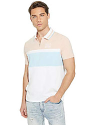 cheap -nathan johnny color-block polo