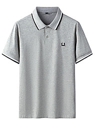 cheap -boss men's polo shirt, marine, s