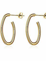 cheap -hoop earrings for women,14k gold plated women earrings with 925 sterling silver post, hypoallergenic chunky hoop earrings jewelry for women girls