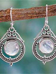cheap -Women's Drop Earrings Earrings Dangle Earrings Simple Fashion Vintage European Earrings Jewelry Silver For 1 Pair