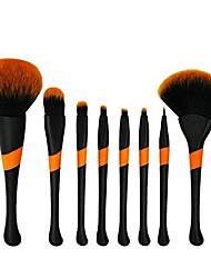 cheap -jinhua exquisite 8 piece makeup brush, conical handle series professional foundation concealer concealer powder eye shadow makeup brush set powder liquid - black (color : black)