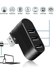 cheap -3-port Usb Hub Mini Swivel Cube Splitter Adapter For Pc Laptop Notebook Mac Usb 2.0