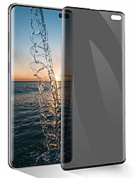 cheap -for samsung galaxy s10 plus 5g privacy screen protector [anti-spy] [darken screen] tempered glass screen protector [anti-scratch] [sensitive touch] [hd clear] 6.4-inch