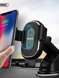 cheap -Remax Wireless Car Charger For iPhone 12 11 Samsung Note20 S20 S10 Android Phone Charger Fast Wirless Charging Car Phone Holder