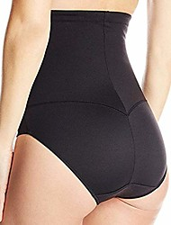 cheap -forthery tummy control shapewear panties shaper bodysuit slimming high waist panties seamless briefs for womens(black,l)