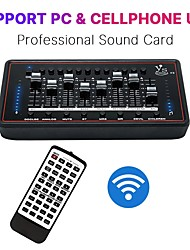 cheap -Professional Sound Card For Bm 800 Studio Microphone Audio Interface Computer Sound Card Live Broadcast Record Sing