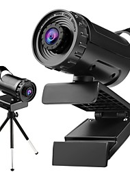 cheap -Webcam HD Desktop Laptop PC Web Camera 1080P With Microphone USB Plug and Play Teaching Live Conference Computer Cameras HD 1080P