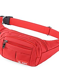 cheap -waterproof bum bag suitable for travel, sports& all outdoor activities, hip bag for women and men, bum bag waterproof hip bags for running (red)