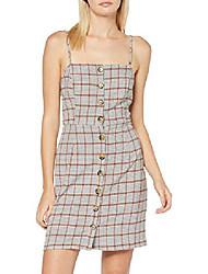 cheap -women's dress, yellow, 18 (manufacturer size:18)