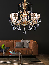 cheap -5-Light 75 cm Designers Chandelier Metal Brass Traditional / Classic 110-120V / 220-240V