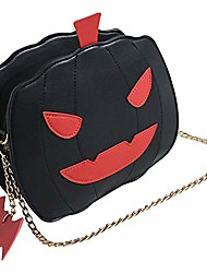 cheap -women cross-body bags pumpkin handbag halloween candy bag little devil shoulder messenger bag