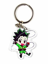 cheap -hunter x hunter hisoka morow chrollo lucilfer, illumi zoldyck cute key chain charms backpack pendants anime keychain(multi-style02)