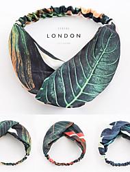 cheap -3pcs Headbands Hair Accessories Hand-embroidered fabric Wigs Accessories Women's Casual  flower headband