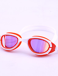 cheap -Swimming Goggles Skidproof Casual Safety Convenient Sports For Teen PU Eco PC Coating Transparent