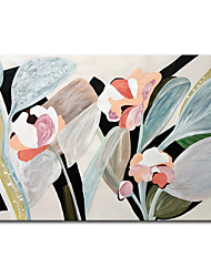 cheap -Mintura Large Size Hand Painted Flowers Oil Painting on Canvas Modern Abstract Wall Art Picture For Home Decoration No Framed