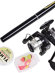 cheap -Fishing Rod and Reel Combo Pen Rod 160 cm Mini Portable Telescopic Heavy (H) Sea Fishing Ice Fishing Bass Fishing