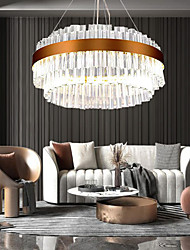 cheap -1-Light 60 cm Crystal / Eye Protection Chandelier Crystal Electroplated LED / Chic & Modern 110-120V / 220-240V