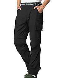 cheap -men's hiking pants, cargo pants, quick-drying, light, zip, outdoor, fishing, travel, safari, hiking pants size 44, black