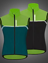 cheap -WOSAWE Men's Sleeveless Cycling Vest Black Dark Navy Patchwork Bike Windproof Sports Patchwork Clothing Apparel