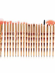 cheap -makeup brush makeup brushes set professional eye shadow powder foundation blending lip cosmetic beauty make up brush tool kit. by  (color : 20pcs rosegold, size : one size)