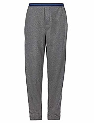 cheap -2 pack mens lounge pants pyjama pjs bottom jersey cotton rich plain nightwear soft warm elasticated waist with pockets (black/navy pj lounge pants, xx large)