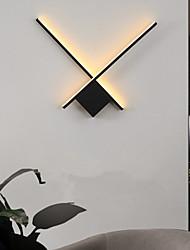 cheap -modern led wall light black white bedside lamp living room bedroom iron wall light 110-120v 220-240v 10 w