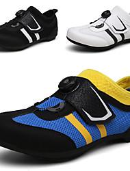 cheap -road cycling shoes men's bicycle shoes lightweight wear resistant bike footwear road bike shoes mountain bike shoes