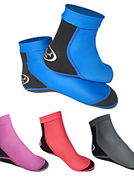 cheap -Dive&Sail Women's Men's Water Socks Aqua Socks 3mm Quick Dry Breathable High Strength Barefoot Diving Surfing Snorkeling Scuba Boating Kayaking - for Adults / Cotton / Winter / Stretchy / Athleisure