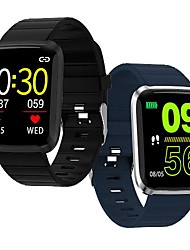cheap -WAZA 116 Pro 1.3inch Large View Heart Rate Blood Pressure Monitor Multi-sport Modes Smart Watch