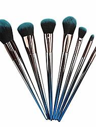 cheap -concealer eye shadow powder blush makeup brush, advanced makeup brush set, seamless natural makeup professional makeup brush set, 7 brushes (color : green)