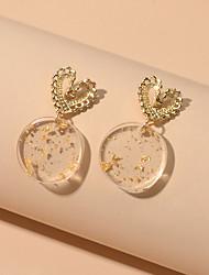 cheap -Women's Drop Earrings Geometrical Fashion Stylish Earrings Jewelry Gold For Date Festival