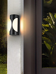 cheap -Outdoor Wall Lights Waterproof Outdoor Wall-mounted Lights Outdoor Iron Wall Light 110-120V 220-240V 10W