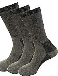 cheap -merino wool hiking & walking wool blend work crew socks workout training hiking walking athletic winter warm sports socks for men size 6-11 (6)