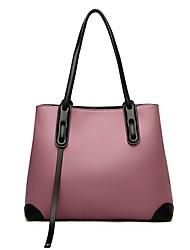 cheap -Women's Bags PU Leather Leather Tote Crossbody Bag Tassel Zipper Daily Outdoor Handbags Baguette Bag Wine Black Blue Purple
