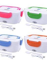 cheap -Electric Warming Lunch Box Food Heater Plug-in Heating Lunch Box 1.2L Home Appliance Insulation box 110V 220V Home-Use Warmer Portable Bento Box Lunch Heater Container Food Grade Material
