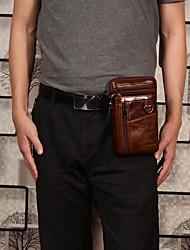 cheap -cowhide multi-function waist bag vintage crossbody bag