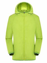 cheap -Men's Women's Hiking Skin Jacket Skin Coat Hiking Windbreaker Outdoor Waterproof Lightweight Windproof Breathable Jacket Top Fishing Climbing Camping / Hiking / Caving Contact customer service in