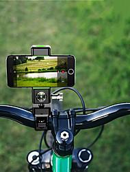cheap -Bike Phone Mount Anti-Shake / Damping for Road Bike Mountain Bike MTB Folding Bike ABS Cycling Bicycle Black Green