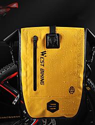 cheap -bike rear seat pack bag, backseat rack bag cycling bicycle anti-tear tpu strong waterproof big capacity for travel essential (black)