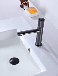 cheap -Bathroom Sink Faucet - Waterfall Antique Brass / Painted Finishes Vessel Single Handle One HoleBath Taps