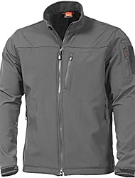 cheap -Men's Hiking Fleece Jacket Winter Outdoor Lightweight Windproof Breathable Quick Dry Jacket Top Fleece Fishing Climbing Camping / Hiking / Caving Please consult customer service for large quantities