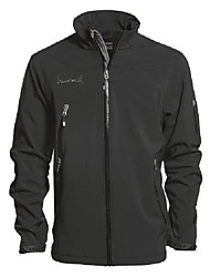 cheap -advanced corporate softshell men's jacket - black, small