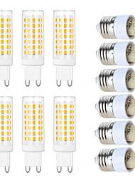 cheap -g9 e27 led bulb 60w halogen equivalent 87leds non-dimmable light bulbs naturally white warm white no-flicker for home lighting cabinet bathroom kitchen ac120v ac220v