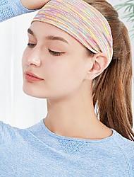 cheap -HeadBand Sports Chinlon Yoga Exercise & Fitness Anti Slip Durable Anti-slip Strap Sweat Control For Men Women