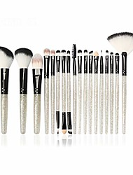 cheap -makeup brush makeup brushes set professional 18pcs cosmetic powder eye shadow blush beauty make up brush tool kit. by  (color : 18pcs bh, size : one size)