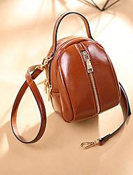 cheap -women faux leather wild crossbody bag fashion shell bag