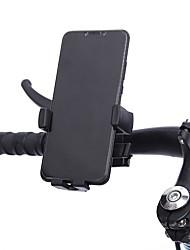 cheap -Bike Phone Mount Anti-Shake / Damping 360 Rotating for Mountain Bike MTB Folding Bike Recreational Cycling ABS Cycling Bicycle Black