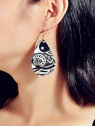 cheap -Women's Drop Earrings Geometrical Vintage Earrings Jewelry Black For Vacation Beach